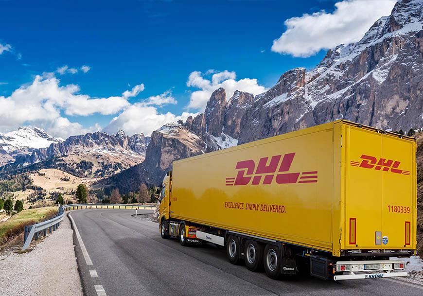 DHL vrachtwagen