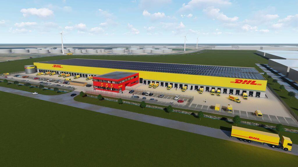 DHL nieuw sorteercentrum Amsterdam