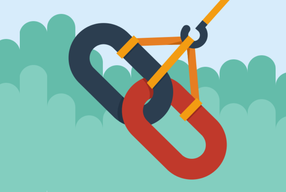 Linkbuilding illustratie