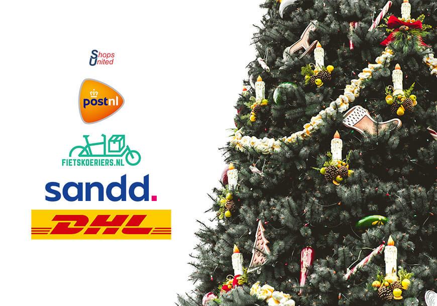 Aangepaste bezorgtijden feestdagen dhl postnl sandd en fietskoeriers via shops united.jpg
