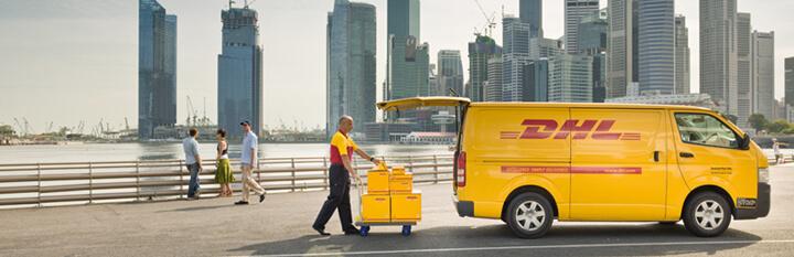 DHL Express pakket sturen