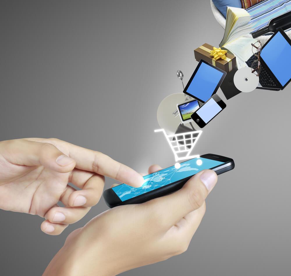 mobiel e-commerce